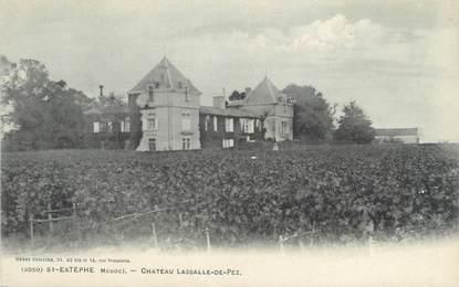 """CPA FRANCE 33 """"Saint Estephe, château Lassalle de Pez"""""""