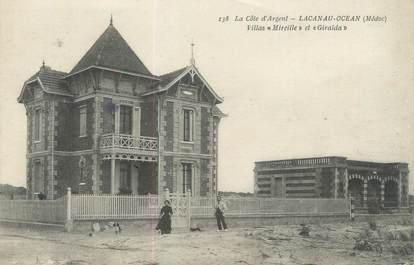 "CPA FRANCE 33 ""Lacanau Océan, villa Mireille et Giralda"""