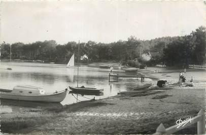 """CPSM FRANCE 33 """"Le Moutchic, bords du lac"""""""