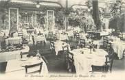 """33 Gironde CPA FRANCE 33 """"Bordeaux, hôtel restaurant du Chapon fin """""""