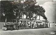 "33 Gironde CPSM FRANCE 33 ""Cap Ferret, le petit train"""