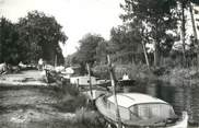 """33 Gironde CPSM FRANCE 33 """"Cazaux, le canal"""""""