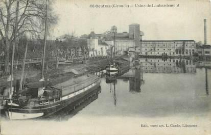 """CPA FRANCE 33 """"Coutras, usine de Laubardemont"""""""