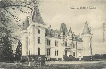 """CPA FRANCE 40 """"Château de Lubbon"""""""
