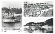 """40 Lande CPSM FRANCE 40 """"Capbreton, bateau de pêche"""""""
