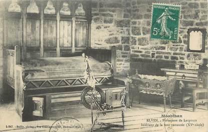 "CPA FRANCE 56 ""Elven, forteresse de Largouët"""