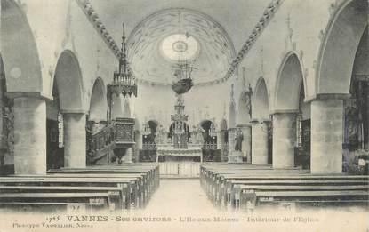 """CPA FRANCE 56""""'Ile aux Moines, intérieur de l'église"""""""