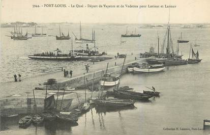 "CPA FRANCE 56 ""Port Louis, le quai"""