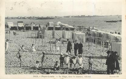 """CPA FRANCE 56 """"Port Louis, la plage """""""