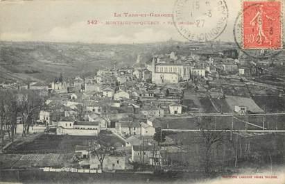 """/ CPA FRANCE 82 """"Montaigu de Quercy, vue générale"""""""