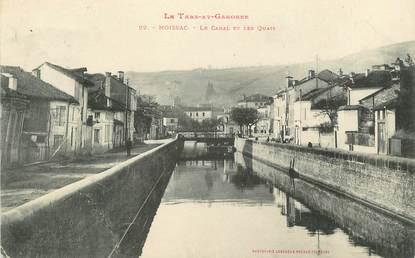 """/ CPA FRANCE 82 """"Moissac, le canal et les quais"""""""