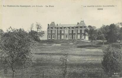 "CPA FRANCE 43 ""Le château de Cumignat"""