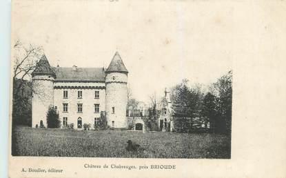 """CPA FRANCE 43 """"Château de Chabreuges près Brioude"""""""