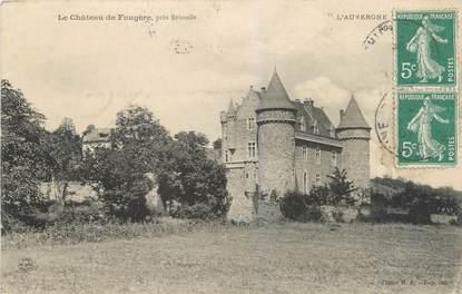 """CPA FRANCE 43 """"Le Château de Faugère"""""""