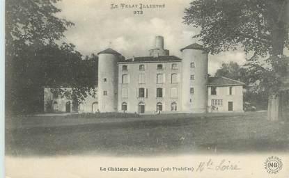 "CPA FRANCE 43 ""Le château de Jagonas"""