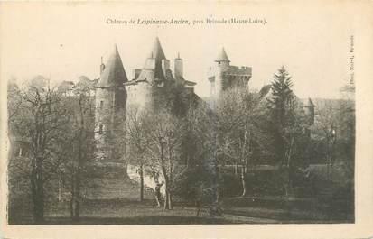 """CPA FRANCE 43 """"Château de Lespinasse Ancien près Brioude"""""""