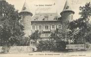 """43 Haute Loire CPA FRANCE 43 """"Lapte, le château de Pralong"""""""