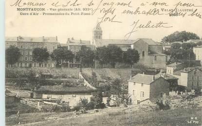 """CPA FRANCE 43 """"Montfaucon, vue générale"""""""