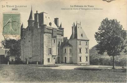 """CPA FRANCE 43 """"Le château de Vaux"""""""