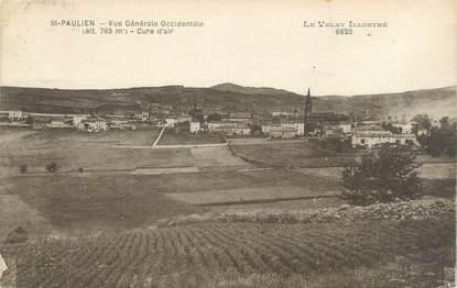"""CPA FRANCE 43 """"Saint Paulien, vue générale occidentale"""""""