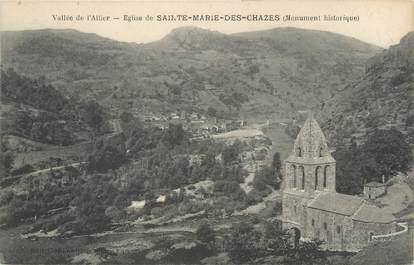 """CPA FRANCE 43 """"Eglise de Sainte Marie des Chazes"""""""