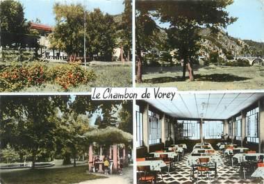"""CPSM FRANCE 43 """"Le Chambon de Vorey, hôtel du parc et ses environs"""""""