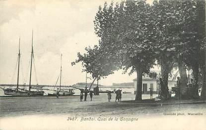"CPA FRANCE 83 ""Bandol, quai de la Consigne"""