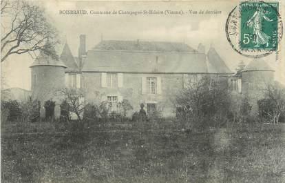 """CPA FRANCE 86 """"Boisraud, commune de Champagné Saint Hilaire"""""""