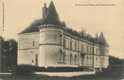 """CPA FRANCE 86 """"Château de la Plaine près Cernay"""""""