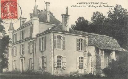 """CPA FRANCE 86 """"Couhé Vérac, château de l'Abbaye de Valence"""""""