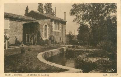"""CPA FRANCE 86 """"Iteuil, le moulin de Lizellier"""""""