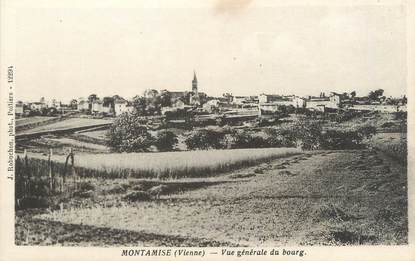 """CPA FRANCE 86 """"Montamisé, vue générale du Bourg"""""""
