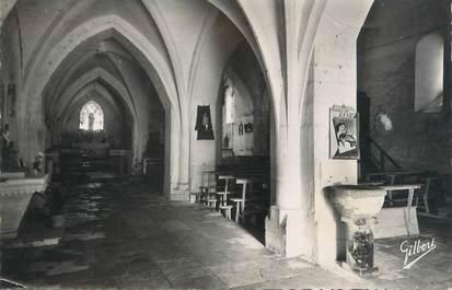 """CPSM FRANCE 86 """"Lizant, intérieur de l'église"""""""