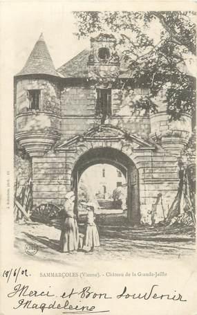 """CPA FRANCE 86 """"Sammarçoles, château de la Grande Jaille"""""""
