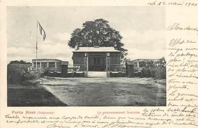 """CPA  DAHOMEY """"Porto Novo, le gouvernement français"""""""
