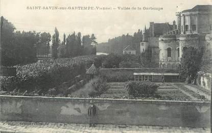 "CPA FRANCE 86 ""Saint Savin sur Gartempe, vallée de la Gartempe"""