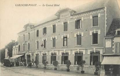 "CPA FRANCE 86 ""La Roche Posay, le central hôtel"""