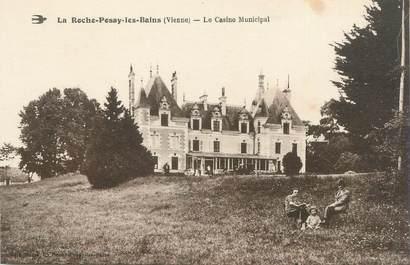 """CPA FRANCE 86 """"La Roche Posay les Bains, le casino municipal"""""""