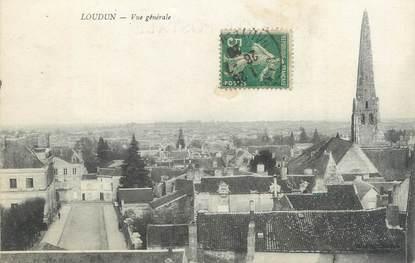 "CPA FRANCE 86 ""Loudun, vue générale"""