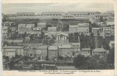 """CPA FRANCE 86 """"Poitiers, le coteau de la Roche, la caserne Logerot'"""
