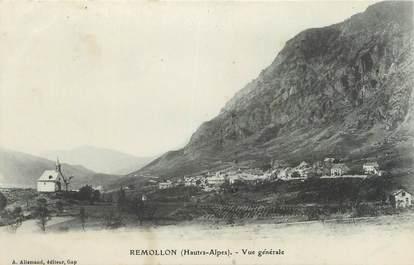 """CPA FRANCE 05 """"Remollon, vue générale"""""""