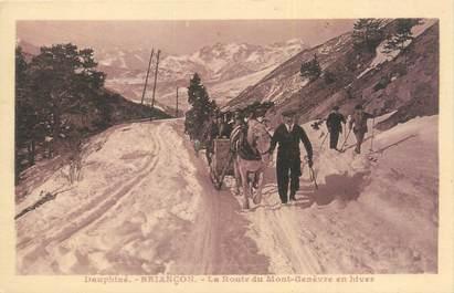 """CPA FRANCE 05 """"Briançon, la route du Mont Genèvre"""""""