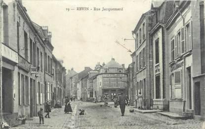 "CPA FRANCE 08 ""Revin, rue Jacquemard"""