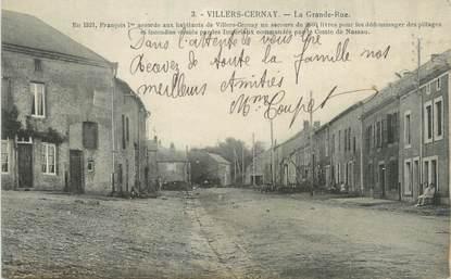"""CPA FRANCE 08 """"Villers Cernay, la grande rue"""""""