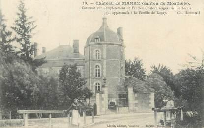 """CPA FRANCE 08 """"Château de Manre, canton du Monthois"""""""