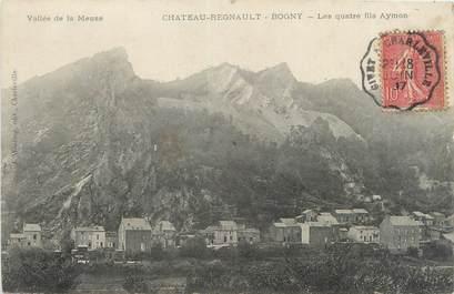 """CPA FRANCE 08 """"Château Regnault Bogny, les quatre fils Aymon"""""""