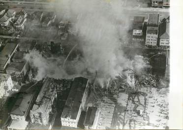 "PHOTO ORIGINALE DE PRESSE / USA ""Incendie à Atlantic City"""