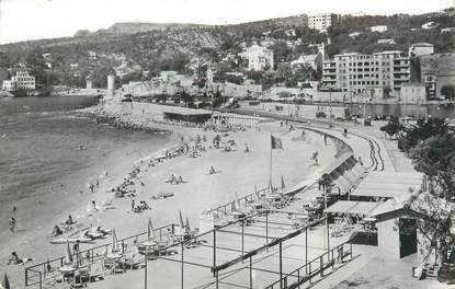 """CPSM FRANCE 13 """"Cassis, la plage du grand large"""""""