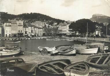 """CPSM FRANCE 13 """"Cassis sur Mer, le port"""""""