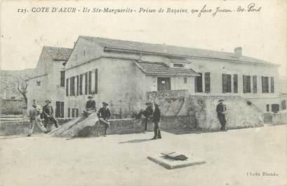 """CPA FRANCE 06 """"Cannes, Ile Sainte Marguerite, prison de Bazaine"""""""